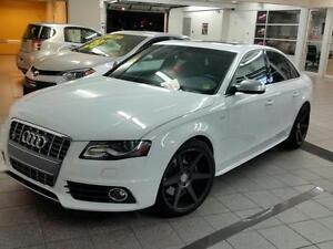 2012 Audi S4 Premium+Nav+8 Roues