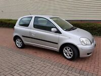 Toyota yaris 1.2 low miles with mot