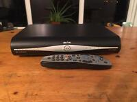 Sky +HD box with remote control