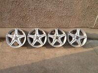 ASA, BBS Alloys, 4x100 or 4x114.3. Fits Audi,Bmw,Vauxhall,Renault,Rover,Nissan,Mazda, Twin Cam AE86