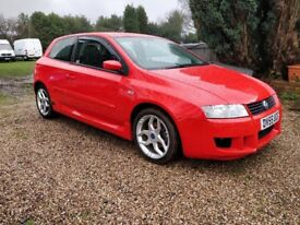 Fiat Stilo 2.4 Schumacher,67,000 miles full service history,2 keys,New MOT,Signed Schumacher Picture