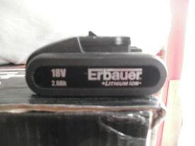 Worx Erbauer Titan Wickes 18v Battery 2.0ah
