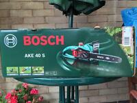 Bosch chainsaw for sale. Almost new