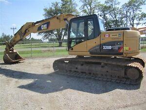 2009 CAT 320D LRR