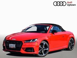 2018 Audi TT 2.0T W/ S LINE COMPETITION & NAVIGATION