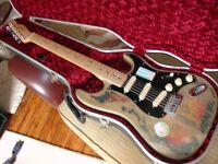 Fender Stratocaster light relic Mexican 60th neck Lace Sensor Hot Gold pick ups ++