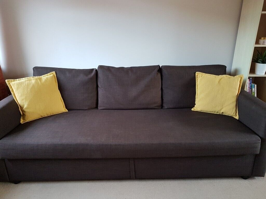 Brilliant Ikea Friheten Three Seat Sofa Bed For Sale In Maidenhead Berkshire Gumtree Andrewgaddart Wooden Chair Designs For Living Room Andrewgaddartcom