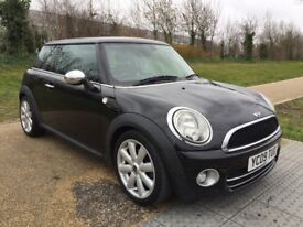 2009 Mini Cooper D 1.6 Diesel Black Low Mileage Immaculate 3 Months Warranty Part Exchange Welcome