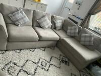 DFS Sofa bed with cuddle chair