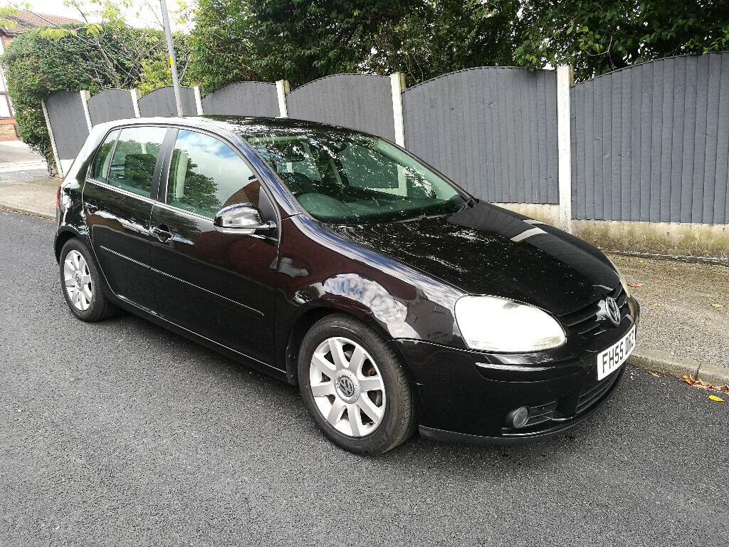 2006 vw golf mk5 2 0 gt tdi diesel black 5 door 12 months mot new tyres parrot kit in. Black Bedroom Furniture Sets. Home Design Ideas