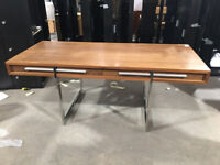 Solid large 190cm Executive Desk Table with Drawers Steijer BlueSun Tree