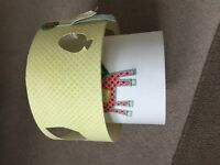Mamas and papas nursery gingerbread lampshade