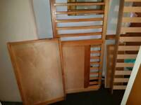 Pine cot bed for sale