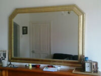 FOR SALE LAURE GOLD MIRROR