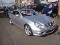 Mercedes Benz CLS 55 AMG Auto,Supercharged 4 dr saloon,full heated,air conditioned leather interior