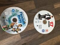 Flushed Away & 17 Again DVDs, no cases. VGC. will sell separately. can post. or collect from torquay