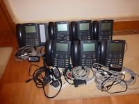 7 * Nortel 1230 handsets and 1 * 18 button expansion module