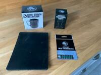 Rhino basic barista kit brand new - jug, mat, 58mm tamper and milk thermometer