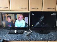 2x TV .Goodmans 22 inch and Technika 22 inch