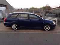 Toyota Avensis 2.2 D-4D T3-S 5dr 1 COMPANY OWNER 6 SPEED ESTATE 1 YEARS MOT