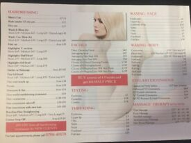 Hair & Beauty Get 20% off on your first appointment for hair, new clients only, Thai Massage,