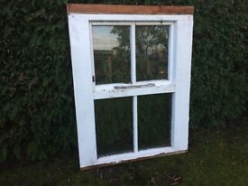 Period Cottage window in Hardwood