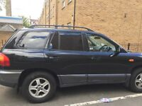 Automatic Hyundai Santa Fe. Low mileage and very good condition.