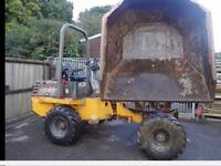 Benford diesel 4 wheel drive dumper