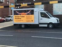 Digital Advertising Van & running business FOR SALE - Very Profitable