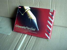 NEW CLASSIC SIX PEN SET IDEAL GIFT.