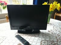 Superb 19 inch Portable TV. Built in DVD and USB Media Player. Great for Caravan etc. HD ready,HDMI