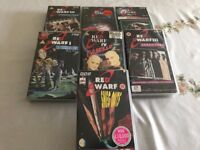 7 Red Dwarf VHS tapes