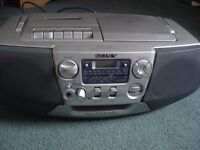 SONY CD / RADIO / CASSETTE PLAYER/ RECORDER