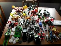 COLLECTION OF BEN 10 FIGURES