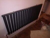 Designer anthracite grey radiators x 4, £220 job lot. New boxed