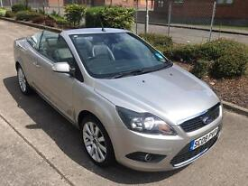 Stunning 2008 08 Ford Focus CC3 2.0Tdci Convertible **2 Owners+Only 63000+Warranty+Mega Spec**