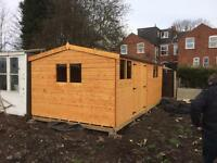 20x8 shed/work shop t&g