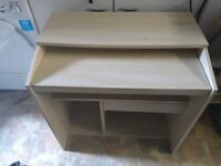 Computer Desk with Draw and Pull Out Shelf
