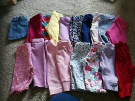 Newborn bundle of girls clothes