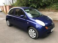 2004 Nissan micra 1.2cc 6 Months MOT AIR CON CD player low miles very reliable cheap car