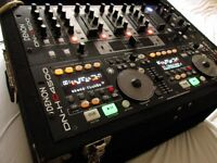 DENON DJ DN-HC4500 Midi cotroller & DN-D4500 twin dual CD MP3 player & DN-X500 Mixer & Flight case