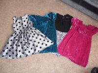 Girls Clothes, Coats, dresses,PJ's,Tops, etc
