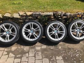 BMW split rim alloy wheels Z4 new tyres fully refurbished
