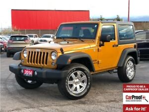 2014 Jeep Wrangler SPORT**HARDTOP**AIR CONDITIONING**ALLOY WHEEL