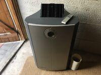 Amcor PLM12KE-410 Portable Air Conditioner/Dehumidifier/Fan/ Hose Remote Control