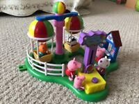 Peppa Pig Ballon ride, and Extra characters