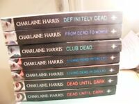 Five Different Books by Charlaine Harris Listed Below.