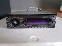 sony xplod car stereo with wireing