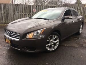 2014 Nissan Maxima SV LEATHER PANORAMIC  ROOF BACK UP CAMERA
