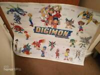 Digimon Painting / poster. For early 20's.
